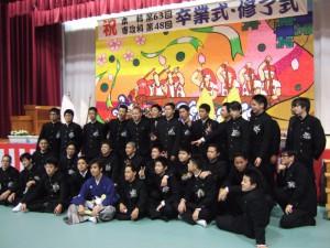 DSCF32691 300x225 長男の卒業式