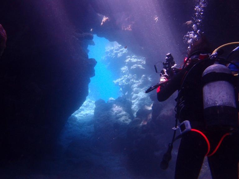 P4294119 ダイビングにハマる海。