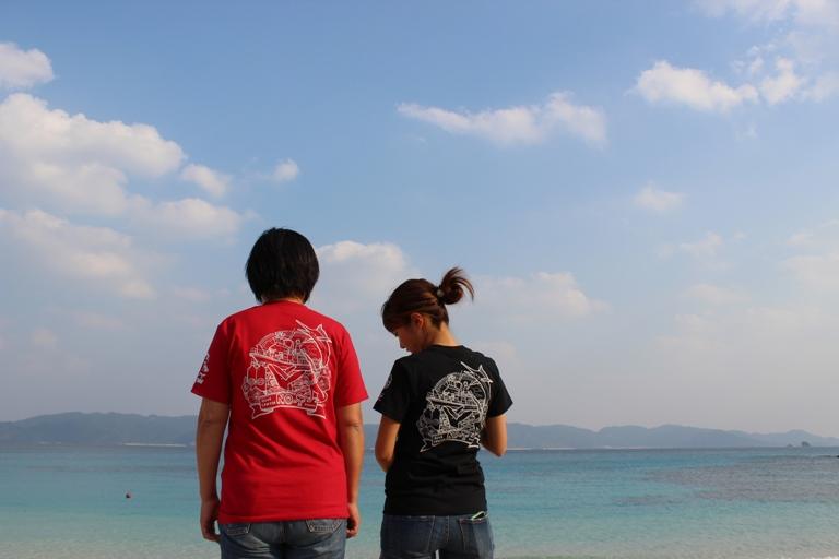 IMG 6067 新作Tシャツ完成ですっ!!!