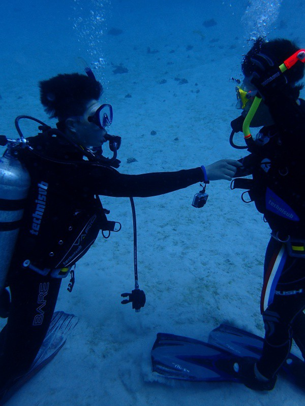 P4172489 e1460884232480 Fun diving!!& もずくの日!