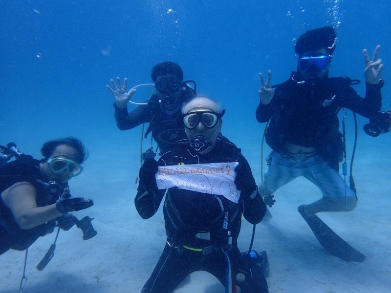 P7161009 サンゴ&デバ。ダイビング!